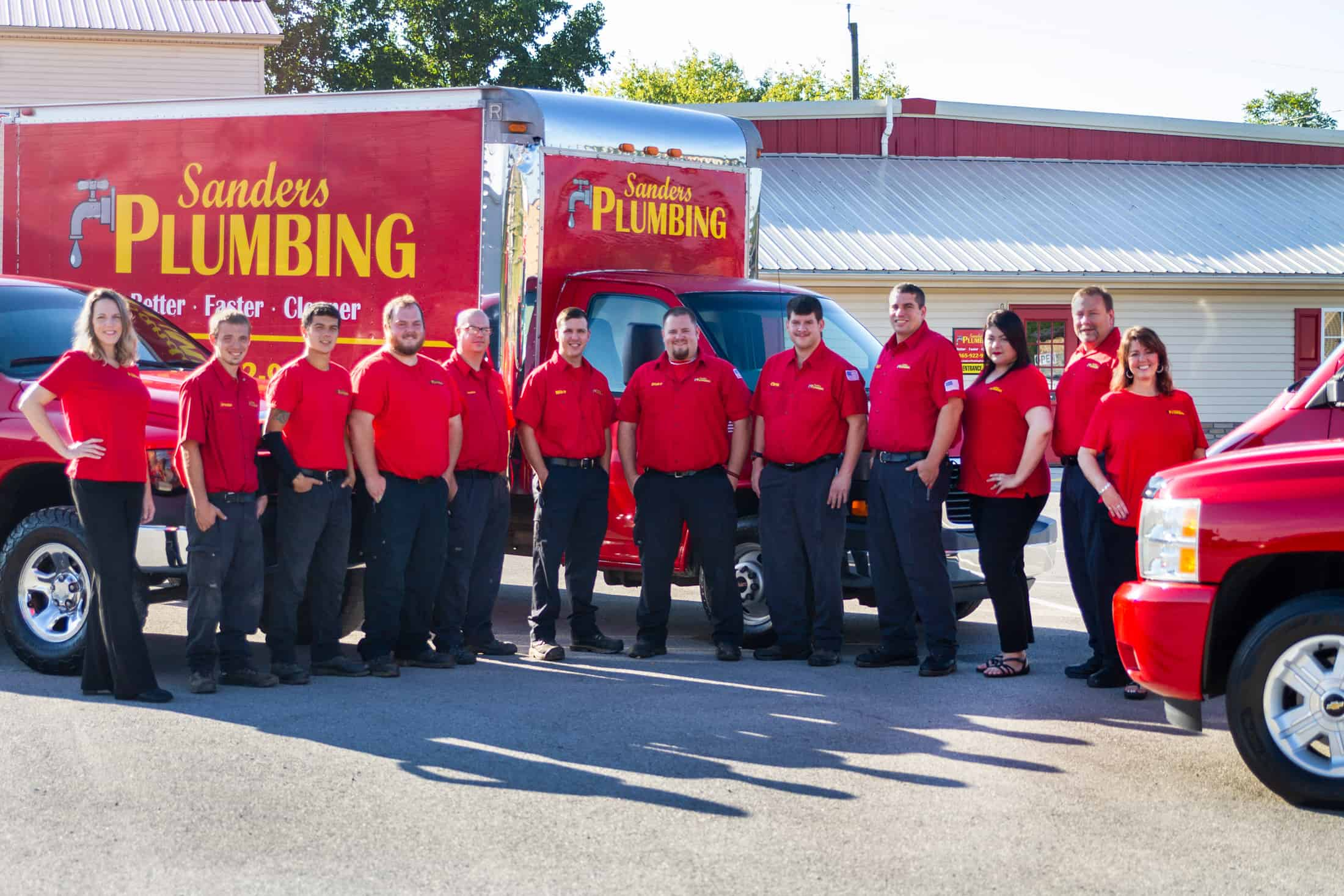Plumber in Knoxville, TN | Sanders Plumbing Company | Staff